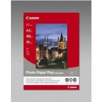 CANON CARTA FOTOGRAFICA SEMI LUCIDA SG-201 260g/m2 A3 20 FOGLI 1686B026 - Conf da 2 pz.