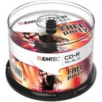 CD-R EMTEC 80MIN/700MB 52x SPINDLE (50pz) ECOC805052CB
