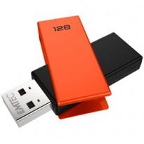 MEMORIA USB 2.0 C350 128GB ARANCIONE ECMMD128GC352