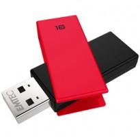 MEMORIA USB 2.0 C350 16GB ROSSO ECMMD16GC352