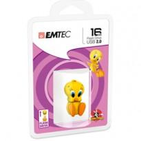 MEMORIA USB2.0 L100 16GB LT Tweety 3D ECMMD16GL100