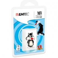 MEMORIA USB2.0 L101 16GB LT Sylvester 3D ECMMD16GL101