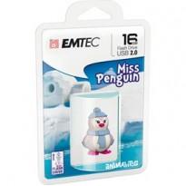 MEMORIA USB2.0 M336 16GB Animalitos Lady Penguin ECMMD16GM336