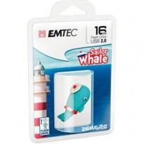 MEMORIA USB2.0 M337 16GB Animalitos Whale ECMMD16GM337