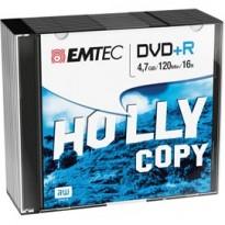 DVD+R EMTEC4,7GB 16X SLIM CASE (kit 10pz) ECOVPR471016SL