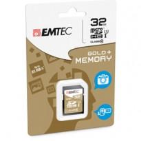 SDHC EMTEC 32GB CLASS 10 GOLD + ECMSD32GHC10GP