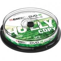 DVD-R EMTEC4,7GB 16X SPINDLE (kit 10zp) ECOVR471016CB