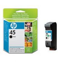 CARTUCCIA A GETTO DINCHIOSTRO HP N.45 NERO 42ML 51645AE