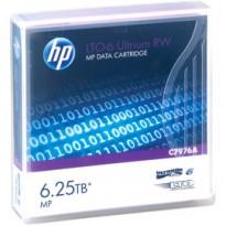 CARTUCCIA DATI HP ULTRIUM LTO-6 6,25 TB MP RW C7976A
