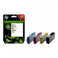 HP 364 CMYK INK CARTRIDGE COMBO 4-Pack N9J73AE