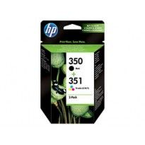 CONF. 2 CARTUCCE INK HP 350/351 -NERO E COLORI SD412EE