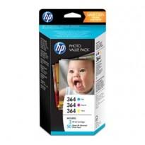 HP 364 SERIES PHOTOSMART PHOTO VALUE PACK 50 SHEETS 10x15 cm T9D88EE