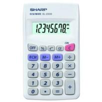CALCOLATRICE EL 233SB 8 CIFRE TASCABILE SHARP EL233SB