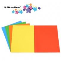 50 Cartelline semplici mix 5 colori 200gr Starline OD0113BLXXXAJ15