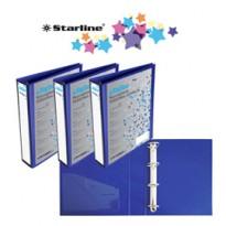 Raccoglitore KingShow 40 A4 4D blu 22X30cm personalizzabile STARLINE 040205bl