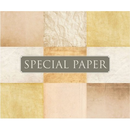 SPECIAL PAPER Busta carta ACQUERELLO BIANCO cm. 12x18 TP G 120 gr/mq (confezione da 25 buste)